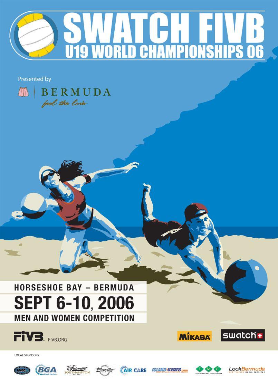 2006 FIVB (con imágenes) Disenos de unas, Diseño grafico