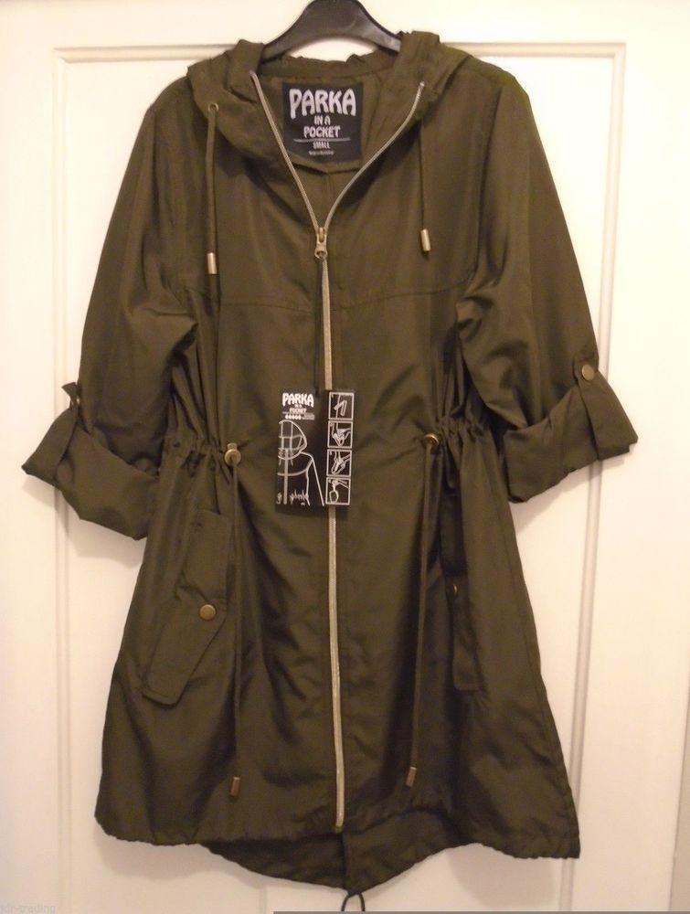 Parka in a pocket raincoat primark