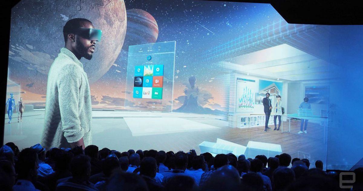 "#Endgadet .... ""2017 will be an exciting year for mixed reality."".... https://www.engadget.com/2016/08/16/windows-holographic-coming-to-all-windows-10-pcs-next-year/"
