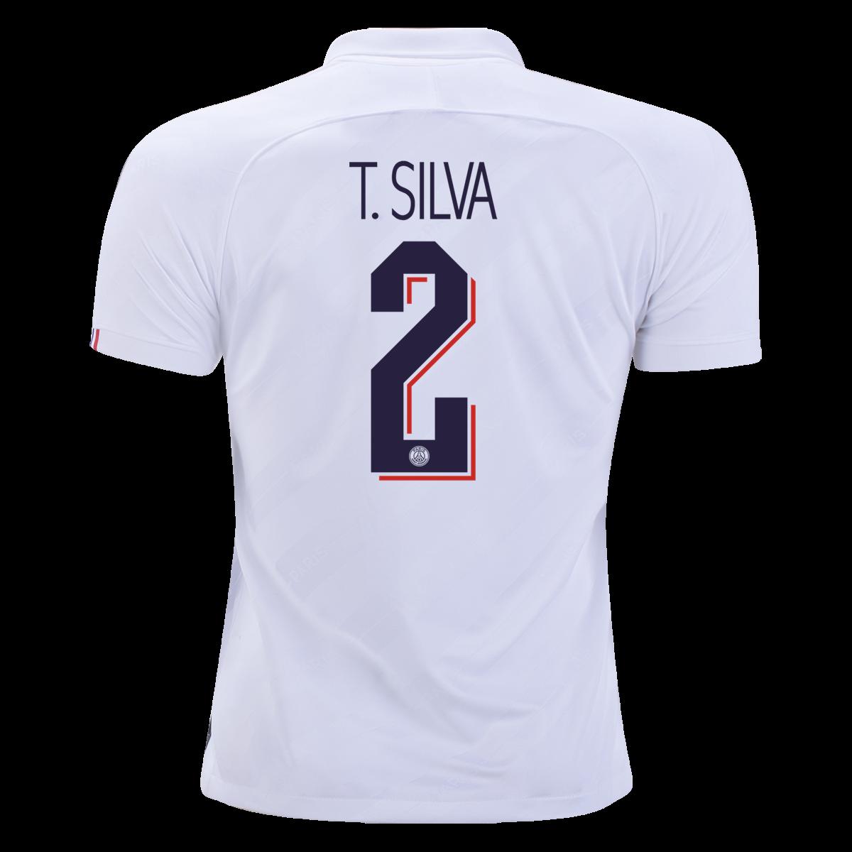 size 40 0ed81 07898 Nike Thiago Silva Paris Saint-Germain Authentic Third UCL ...