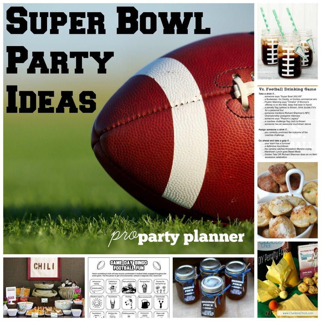 Super Bowl Party Ideas Football Party Ideas Super Bowl Menu Drinks Games Party Shop Super Bowl Menu Party Shop Drinking Games