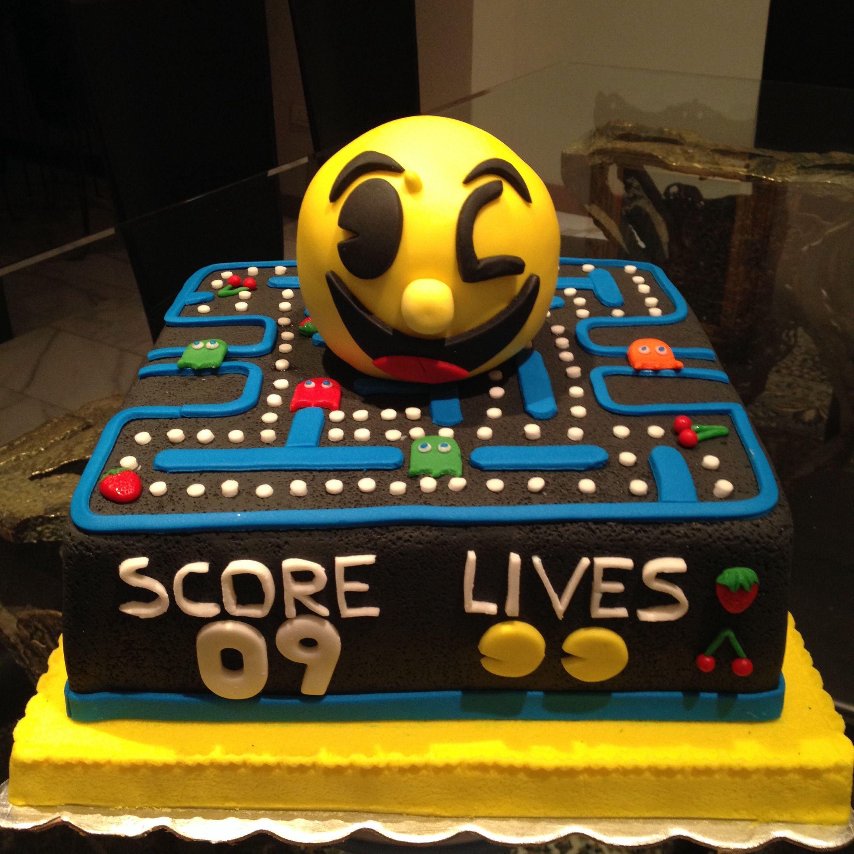 Torta de Pac-Man