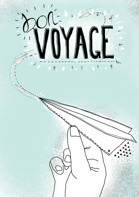 bon voyage illustrations posters pinterest bon voyage and voyage