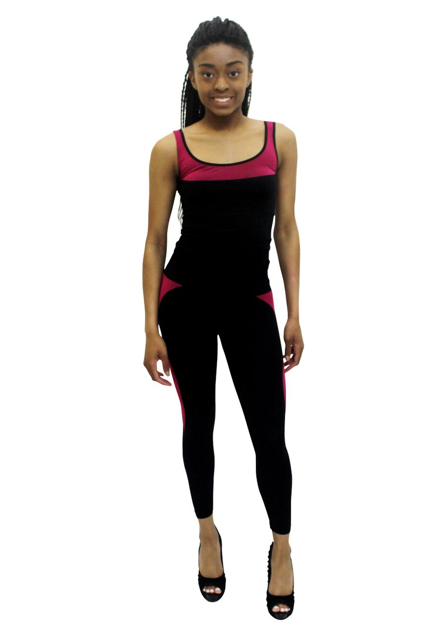 Pretty Girl - Pink Trimmed Work Out Set, $24.99 (http://www.shopprettygirl.com/pink-trimmed-work-out-set)