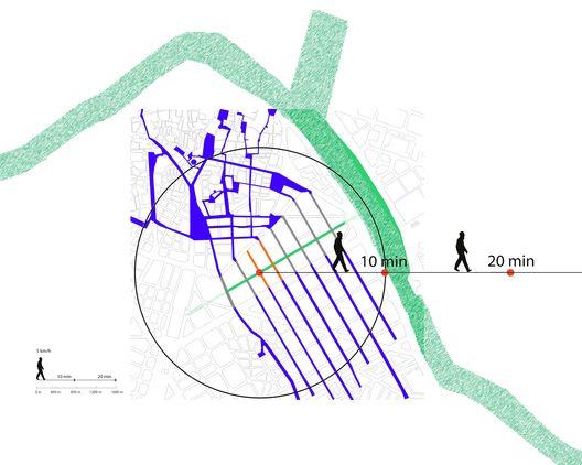 Estructura Urbana. Image © EFG arquitectura
