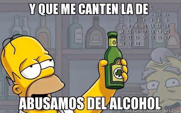 Memes De Borrachos Google Search St Pattys Day The Simpsons Funny
