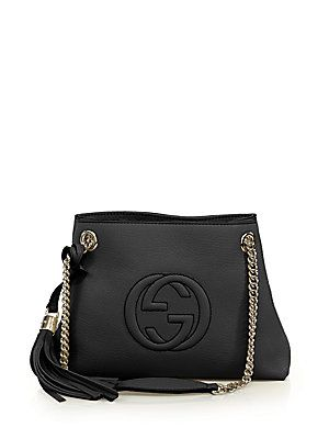 6a35ff4bcca50 Gucci Soho Small Leather Shoulder Bag