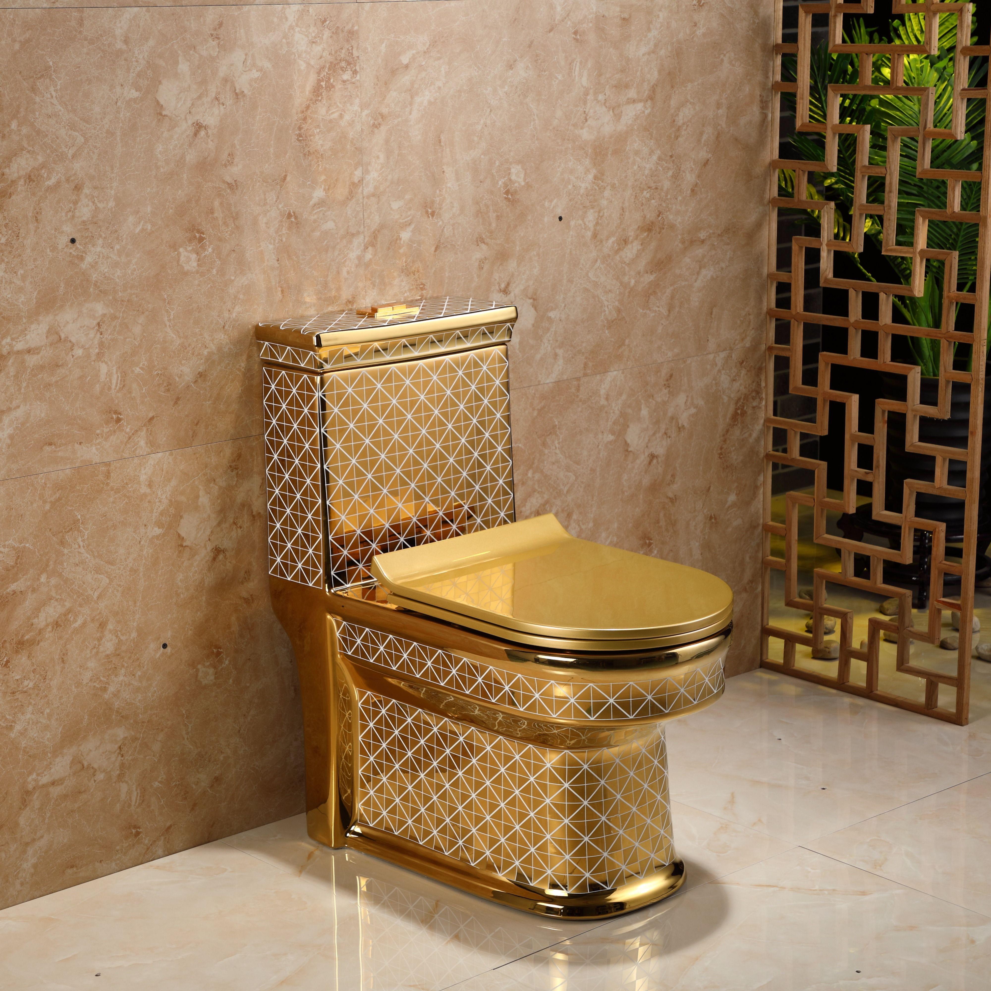 Pin On Luxury Golden Toilet
