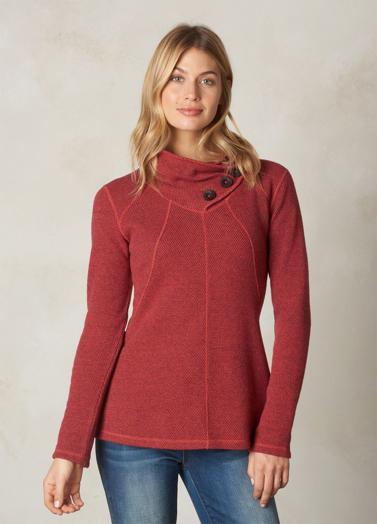 Stay cozy in this adventure-ready warm tunic sweater. Our Ebba ...