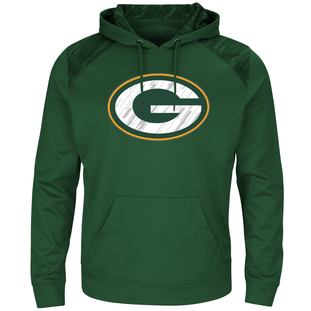 Green Bay Packers Men S Majestic Armor Lll Pullover Hoodie Green Hoodies Hoodie Green Pullover Hoodie [ 1024 x 1024 Pixel ]