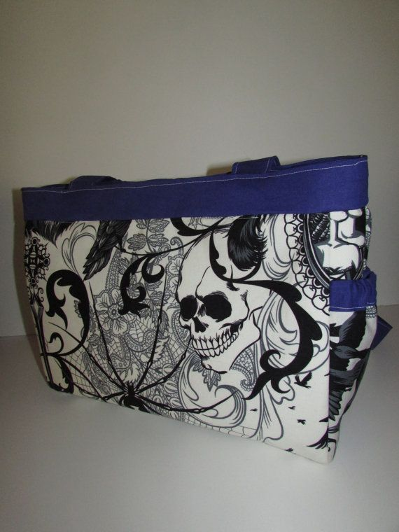 Gothic Style Diaper Bag Purse Made To Order By Tutuprecious 35 00
