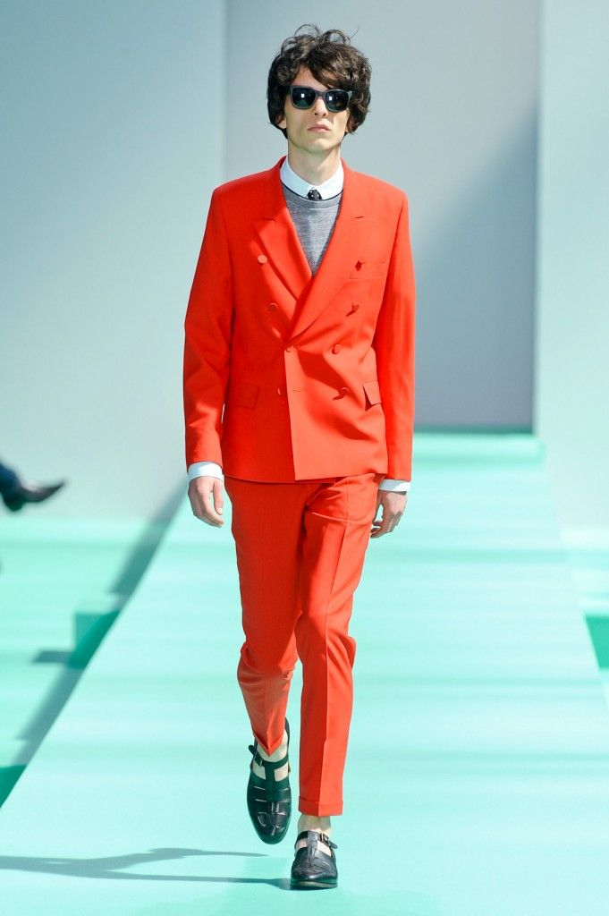 Paul Smith | Men Summer 2013 Paris. Ty