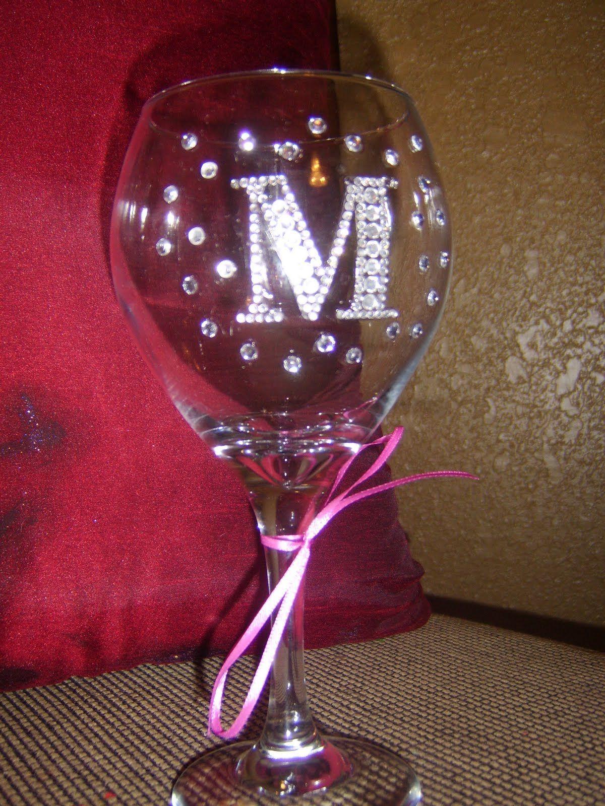 Image Detail For Bling Wine Glasses Funky Wine Glasses