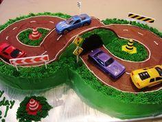 Easy Race Car Birthday Cakes httpwwwsugarliciousonlinecom