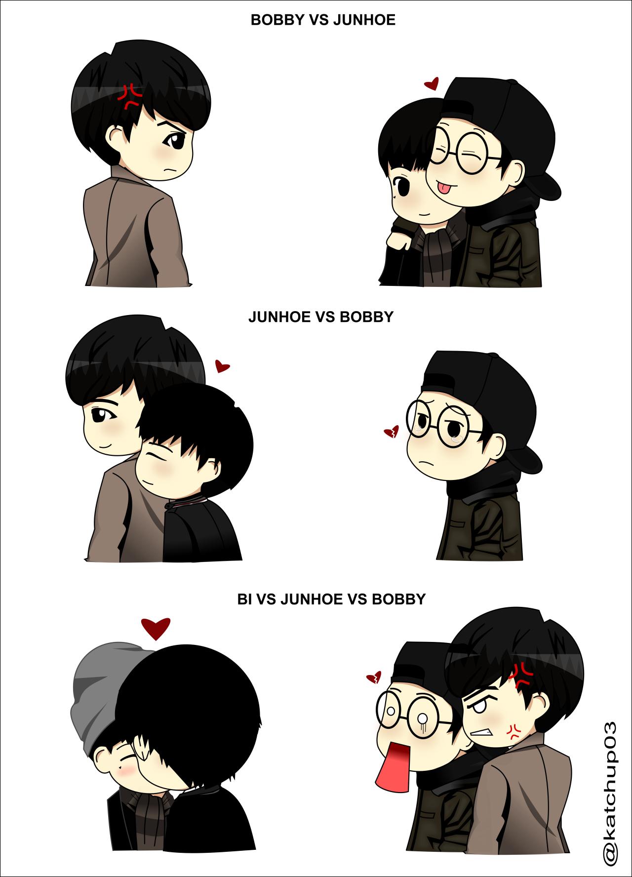 iKON FANART — [IKON FANART] everybody LOVES jinhwan.. i