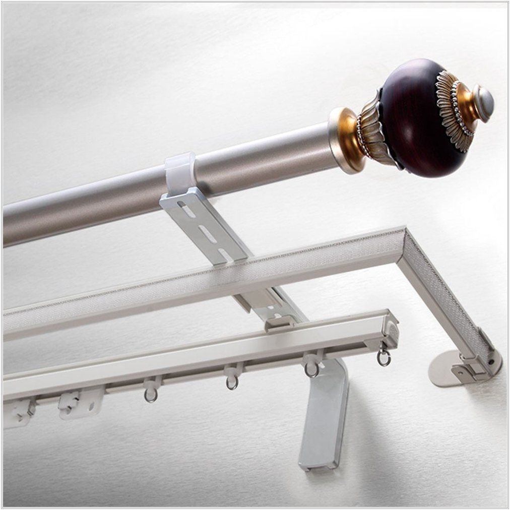 Curtain Rod Extender Triple The Kienandsweet Furnitures For Sizing