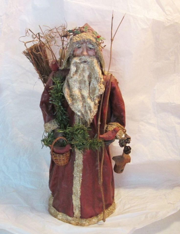 Victorian Father Christmas | Father Christmas Pagan Belsnickle ...
