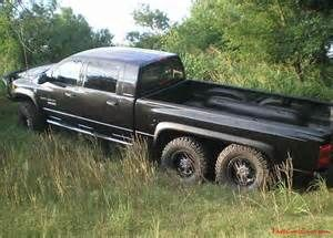 Mega Cab 6x6 A True 6x6 Conversion On An Extended Long Bed Truck