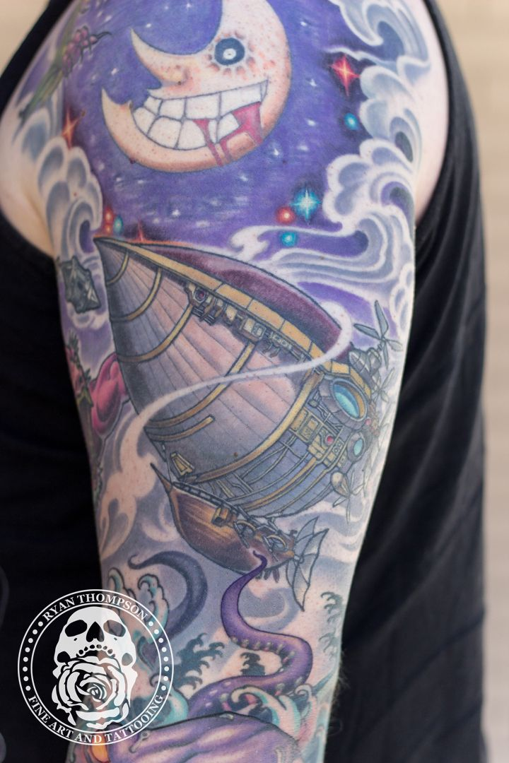 What's not to love about a Final Fantasy themed sleeve? #ryanthompsontattoos#tradewindstattoo #njtattooartist #tomsrivernj #tattoo #tattoos #guyswithtattoos  #tattoosleeve #finalfantasytattoo #finalfantasy #cooltattoos #inkedguys #tattoolife #realistictattoo #colortattoo  #radtattoos #inked #inkedmagazine #realisticcolor #colorrealism #tattooedguy #eternalink #tattooink#ink #tattoosupply #tattoostuff #tattooart #tattooartist #tattooing #tattoostyle #tattooshop#tattooinkinspiration #tattoosession