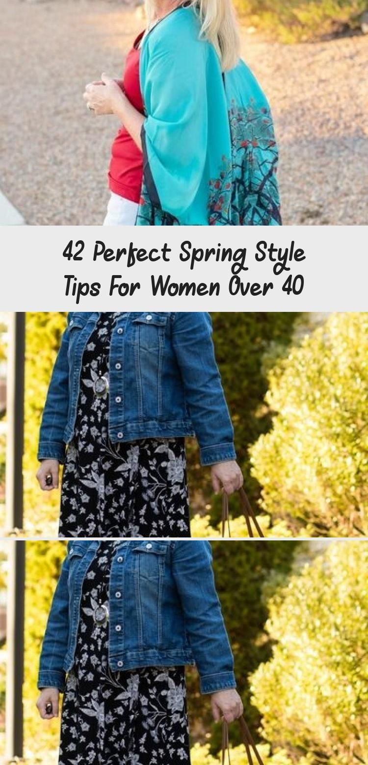 42 Perfect Spring Style Tips For Women Over 40  OUTFIT  Casual Fall Outfits You Must Buy Now Fashion Trends Womens Style Chic And Comfy The Effective Pictures We Offer Yo...
