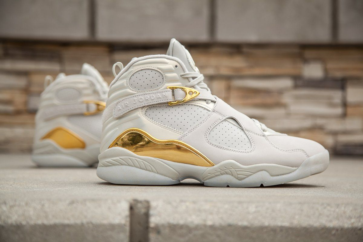 watch 07166 c627d Another Look At The Air Jordan 8 Championship Pack Trophy That Drops On  Saturday