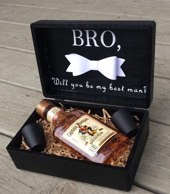 Choose your Best Man or Groomsmen in style with this custom gift ...