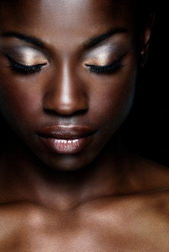 Metallic Makeup: Hot or Not?   African american makeup, American ...