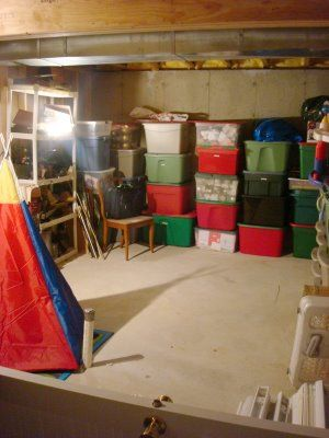 Love these ideas for turning unfinished basement into usable space