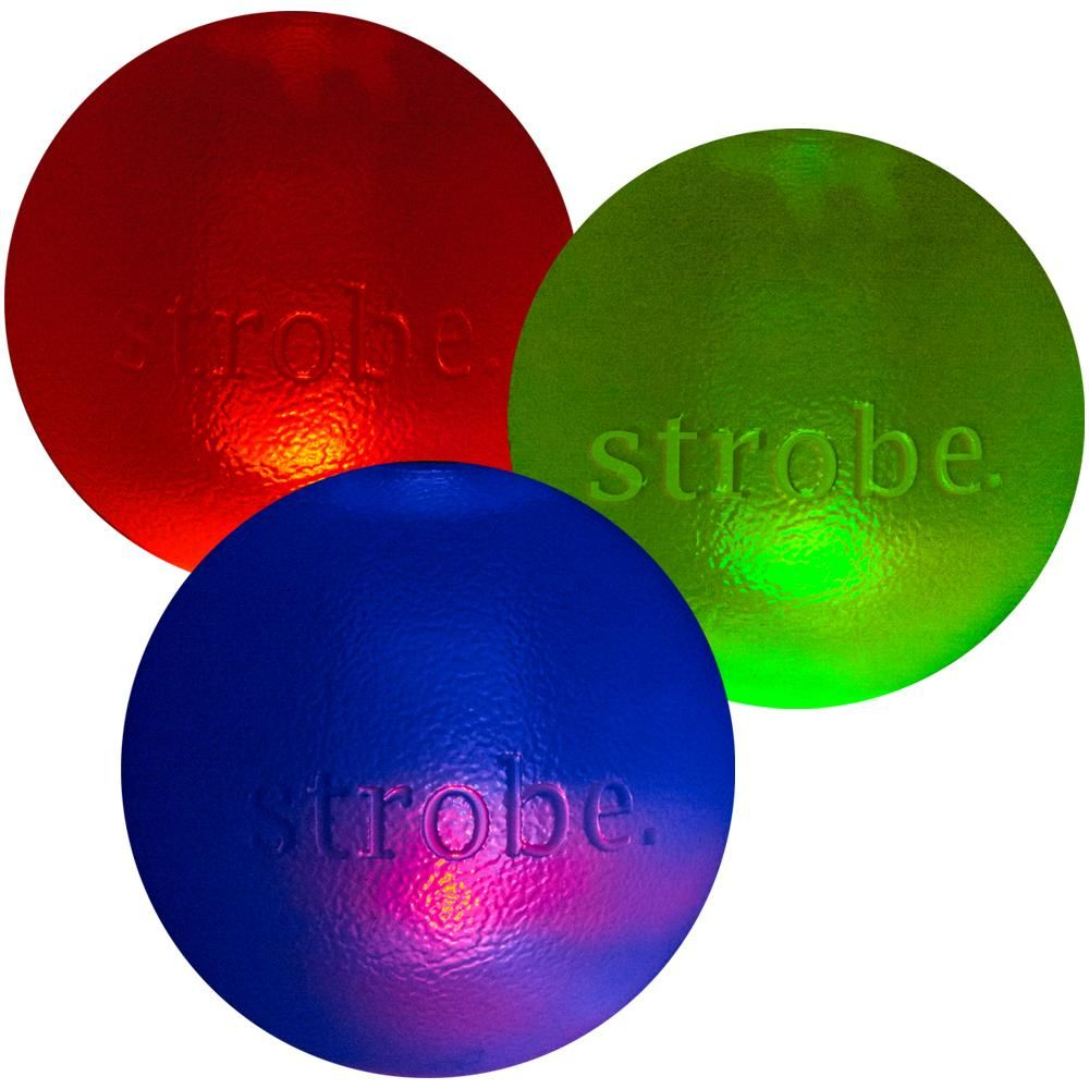 Orbee Tuff Strobe Ball Dog Toy Dog Toys Strobing Interactive Toys