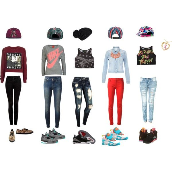 innovative crop top outfits with jordans women