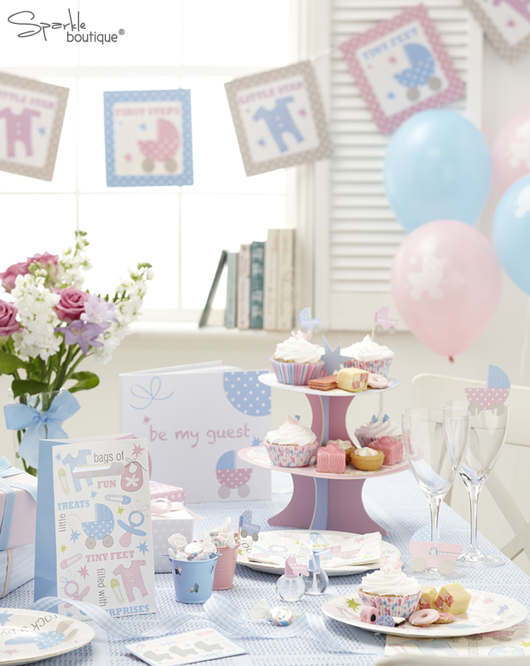 Details About Luxury Baby Shower Decorations / New Baby