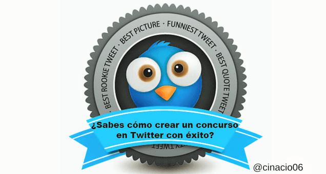 ¿Sabes cómo crear un concurso en Twitter con éxito? #infografia