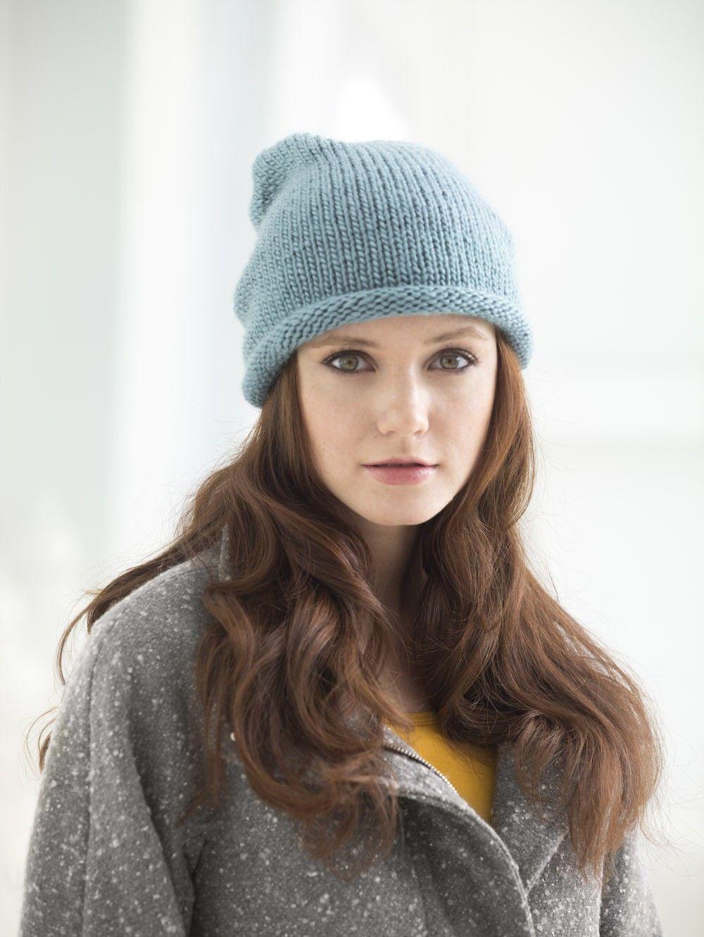 Hip Slouch Hat (Knit)   Knitting   Pinterest