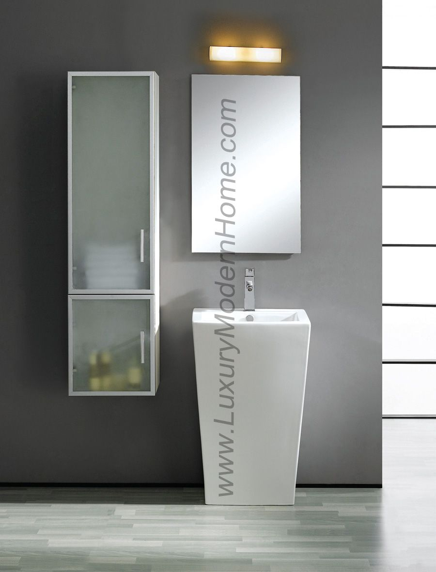 Modern pedestal bathroom sinks - 17 Best Images About Pedestal Sinks Modern Bathroom On Pinterest