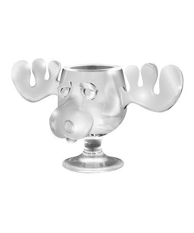 christmas vacation moose 8 oz glass mug by christmas vacation zulilyfinds