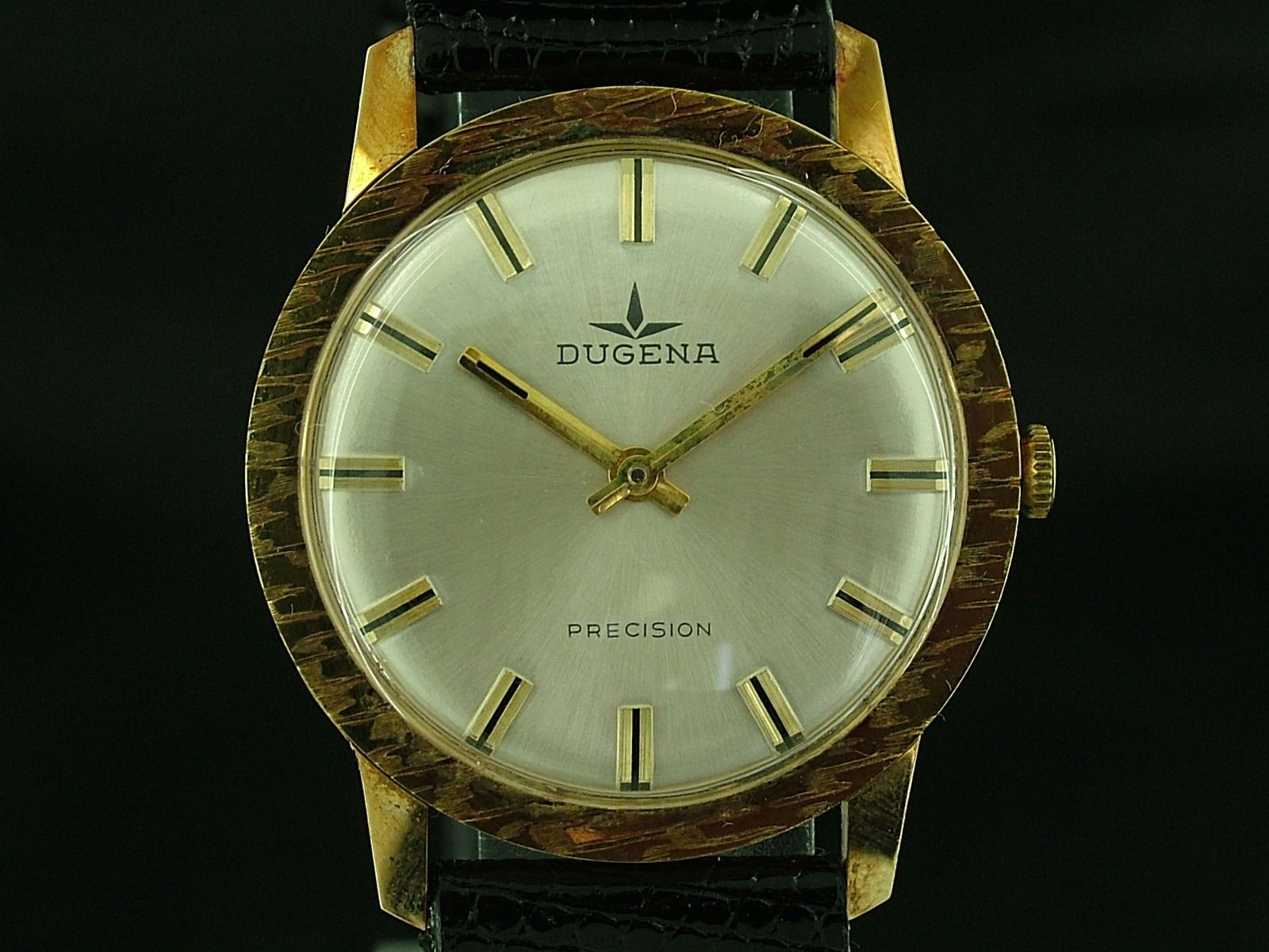 #Vintage dugena #gents swiss mechanical watch 1960s nos ...