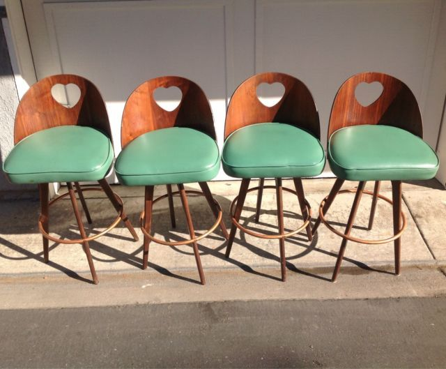 seng chicago chair accent chairs under 100 dollars set of 4 mid century bar stools vintage 1964 barstools heart