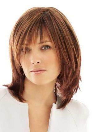 Pin Von Katy Auf Frisuren Pinterest Mittellange Haare Haar
