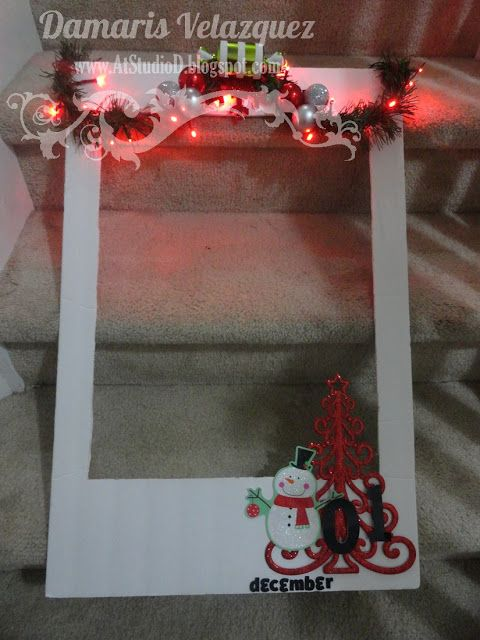 Diy Polaroid Photo Frame For Any Occasion This One I Made For
