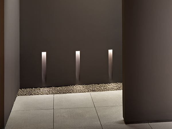 Semi Inset Lamp Vertical Light Small In Collection By Flos Recessed Wall Lights Wall Lamp Interior Architectural Lighting Design