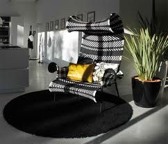 unusual chair, lovely light effect