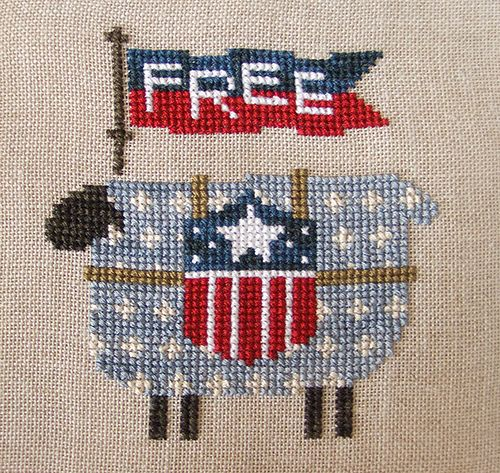 Bent Creek Free Sheep Cross Stitch by Kathryn D. Flickr ~ Photo Sharing!