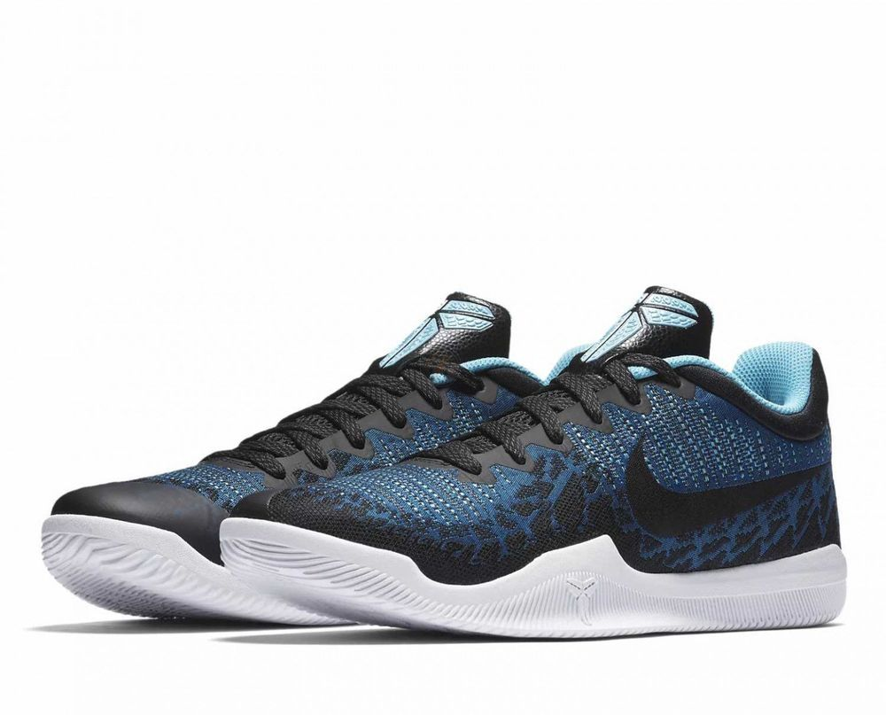 ba7dc40b8b1f Nike Mamba Rage Mens Basketball Shoes 14 Blue Nebula Black Kobe  Nike   BasketballShoes