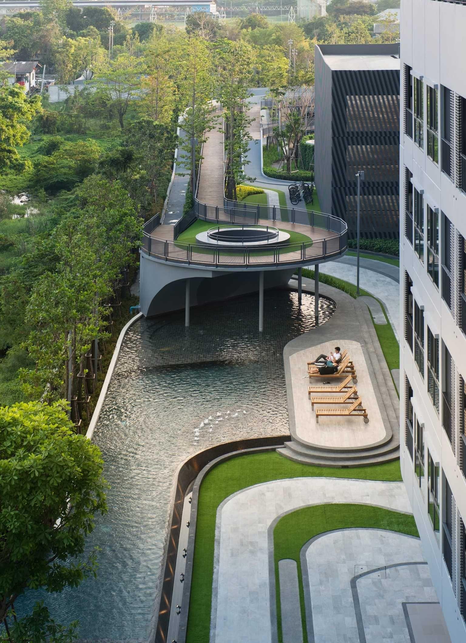 Pin On Mooool 公寓住宅景观apartment Residence Landscape