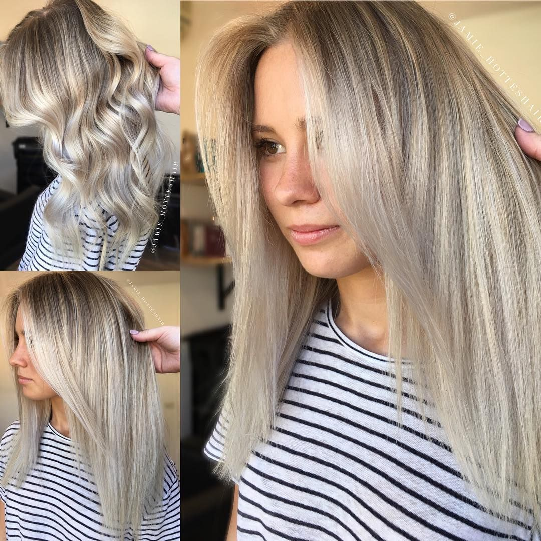 White Sand 1 2hd Babylights The Freehand Painting Remaining Hair Using Lakmecolour K Blonde Toning With Lakm Sand Blonde Hair Cool Hairstyles Cool Hair Color