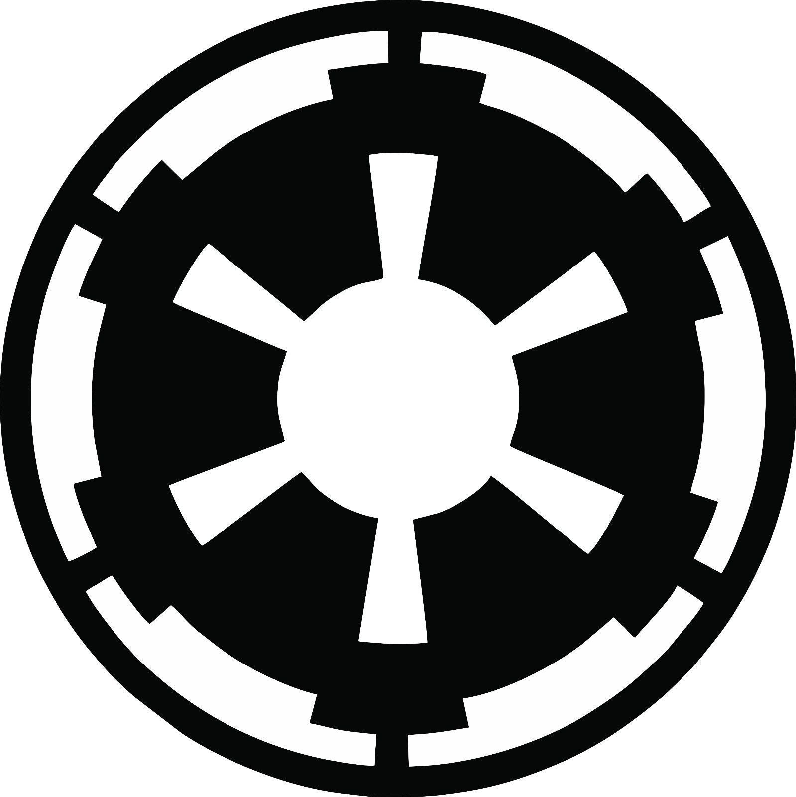 Empire Symbol Logo Vinyl Decal Star Wars The Force Awakens