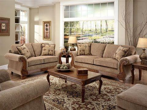 Early American Living Room Furniture Woonkamer Italiaanse