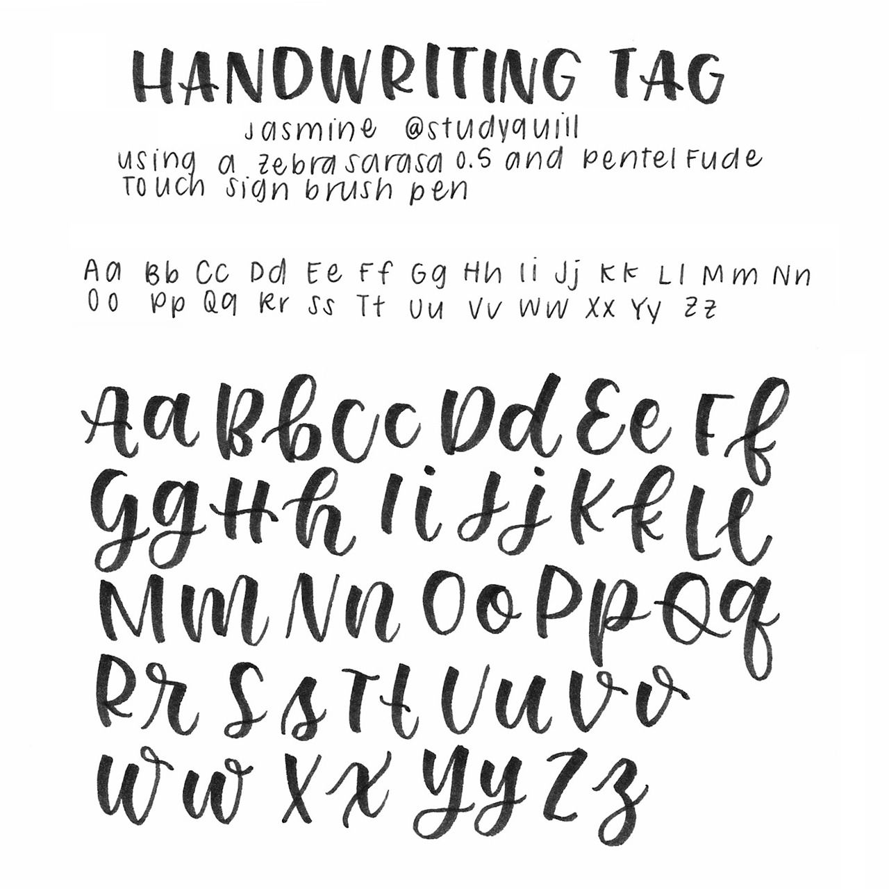 Studyquill Updated Handwriting Tag