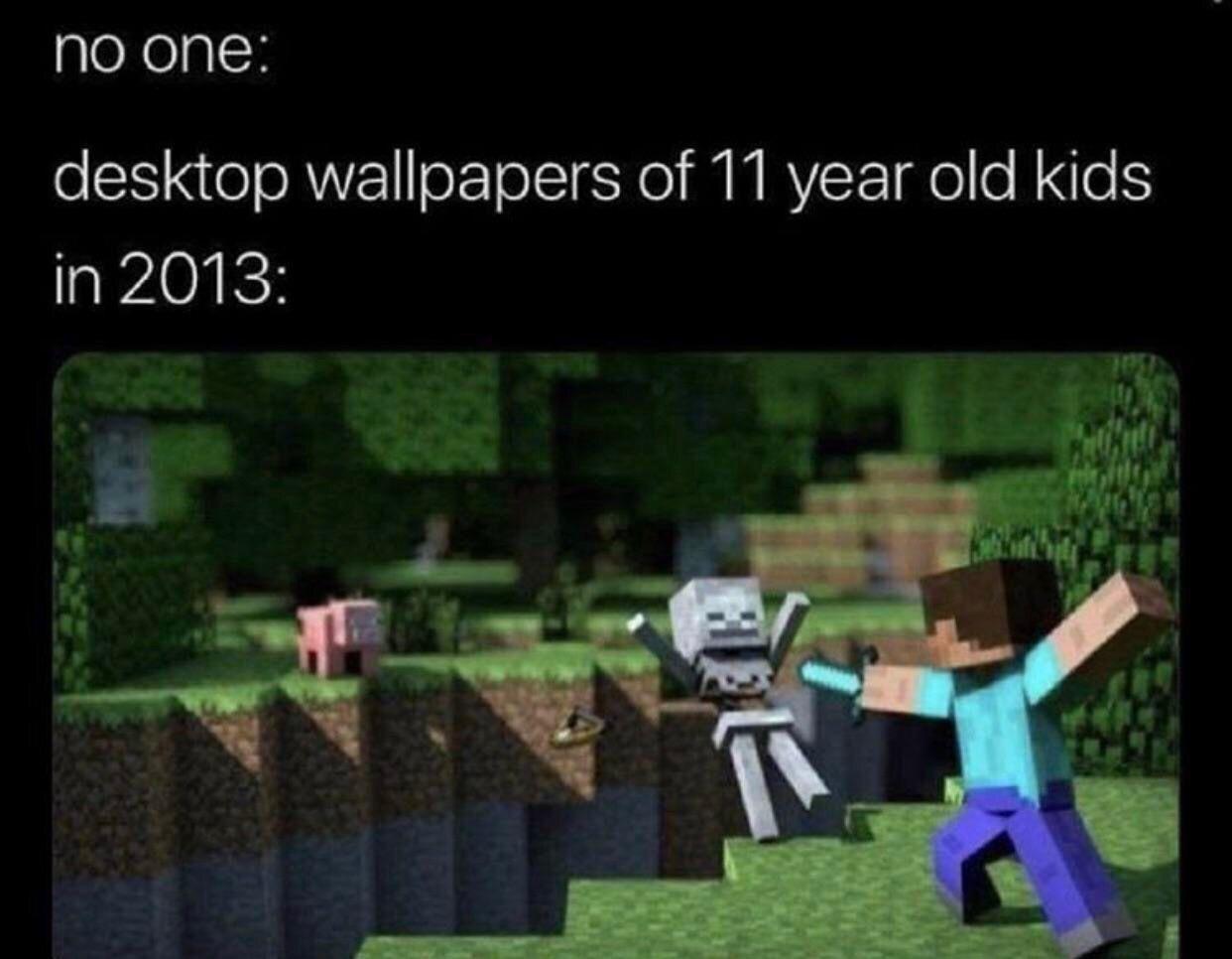 A True Classic Minecraft Memes Stupid Memes Funny Memes