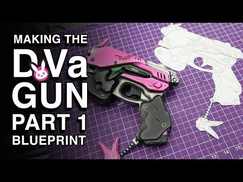 Overwatch DVa Gun Replica - Part 1 - Creating the Blueprint - fresh blueprint entertainment logo